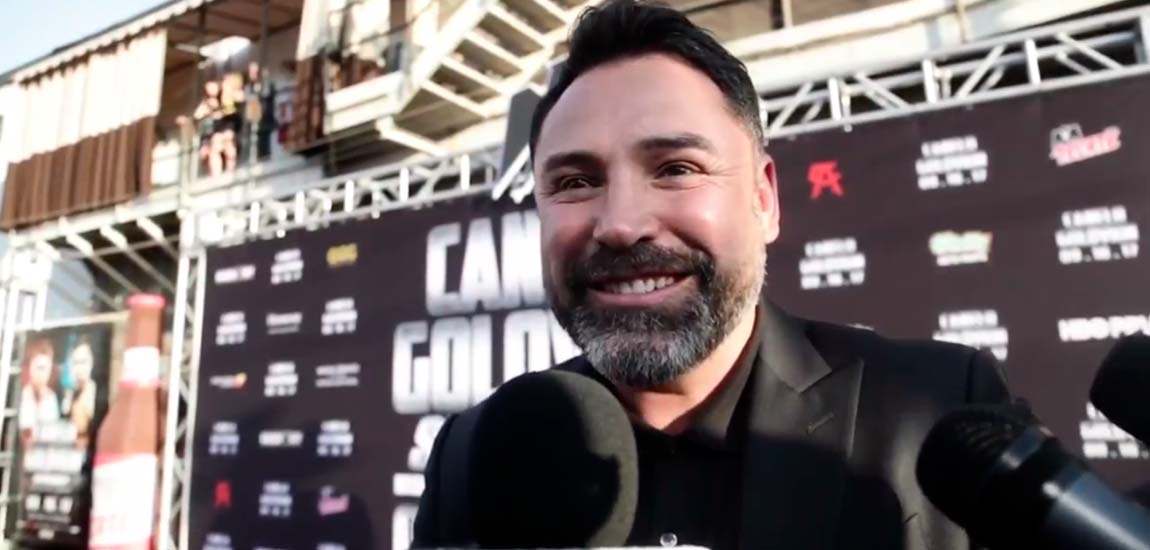 De la Hoya no descarta revancha Canelo vs Golovkin